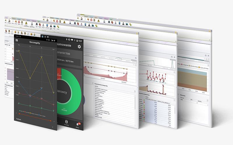 aplikacja i program dla działu kontroli